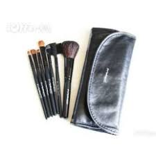 7 pcs mac makeup cosmetic brushes set kit with case