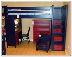bunk beds kids desks. Loft Bed With Desk And Stairs 25 Awesome Bunk Beds Desks Perfect For Kids