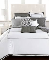 hotel collection linen stripe duvet covers created for macy's