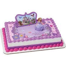 Sofia The First 3d Cake Topper Toys Sugarprintcess