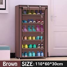 Shoe cabinet 7 layer 6 grid Non woven fabrics large shoe rack organizer  removable shoe storage for home furniture-in Shoe Cabinets from Furniture  on ...