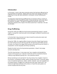 drug trafficking essay co drug trafficking essay
