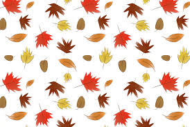 Fall Leaf Pattern Magnificent Fall Leaves Pattern Maddy Beaupré Illustration