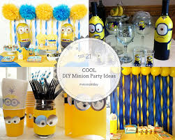 diy minion party ideas