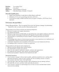 Staff Accountant Job Description For Resume Newskey Info