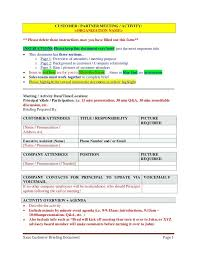 Onenote 2010 Templates Meeting Brief Template Minutes Onenote 2010 Sample Customer Partner