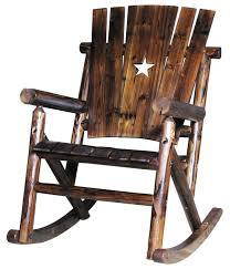 furniture rustic rocking chairs chair kit outdoor pads cushions texas l furniture co amish bentwood