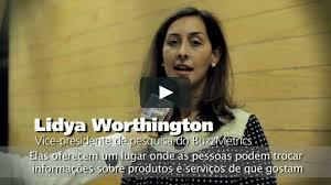 Lydia Worthington - Vice-Presidente de Pesquisa de BuzzMetrics on ...