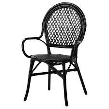 black furniture ikea. Dining Room Cool Black Wicker Chairs With Back And Armrest For Plus White Furniture Ikea