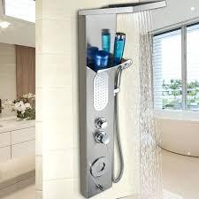 shower panel system install