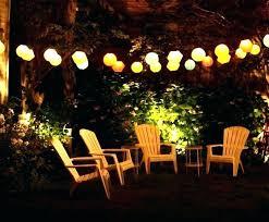 outdoor lighting backyard. Led Hanging Lights Outdoor Backyard Party Lighting Light Also O