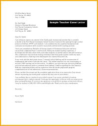 Elementary Teacher Cover Letter Examples Elementary Teacher Cover