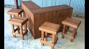 designer outdoor bar 5 x stools set you