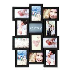 Multiple picture frames family Wall Hanging Image Unavailable Amazoncom Amazoncom Songmics Picture Frames For 12 Photos In 4