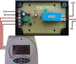 convert digital mains timer to low voltage reuk co uk converted programmable digital timer