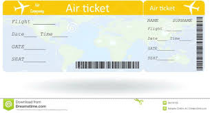 Plane Ticket Template Airline Ticket Templates Template 24 Free Word Excel Pdf Variant Air 1