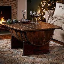 wine barrell furniture. handmade vintage oak whiskey barrel coffee table wine barrell furniture o