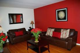 Wall Bedroom Decor Simple Bedroom Ideas With Red Walls Decorating Red Wall Living Room Red