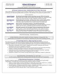 managment resume sample best executive resume format