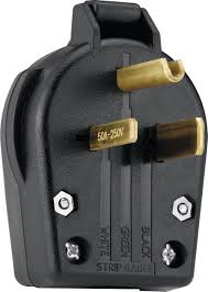 eaton s42 sp commercial grade angle vinyl power plug with 30 50 leviton 30/50 amp dual angle power plug instructions at 250 Volt Plug Wiring For Leviton
