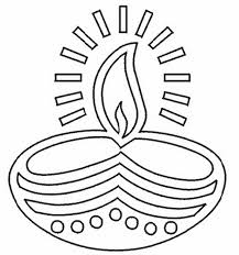 Small Picture Diwali Coloring Pages For Kids FunyColoring