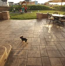 Rustic Stamped Concrete Patios, Pool Decks and Hardscapes rustic
