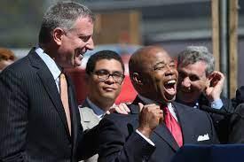 Eric Adams embraces New York bigwigs ...