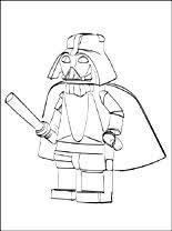 Kleurplaten Star Wars Lego Gratis Kleurplaten