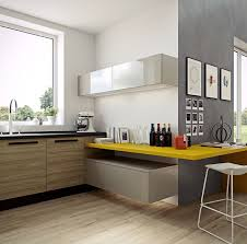 N Masculine Kitchen Design With Bold Yellow Accents