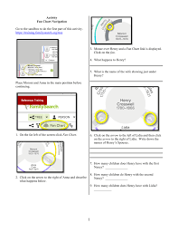 Activity Fan Chart Navigation 1 Click On Fan Chart This