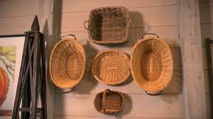 One Design Home Baskets How To Use Baskets As Decoration At Home With P Allen Smith