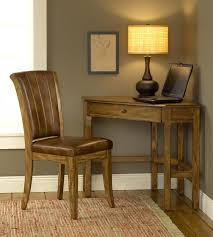 small corner desk wood