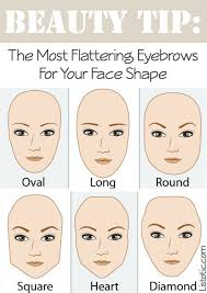 the most flattering eyebrow shape for your face makeup tips and tricks for