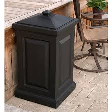 trash can amazing outdoor decorative cans