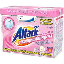 <b>Концентрированный стиральный порошок Attack</b> New Beads с ...