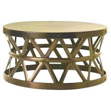 brass coffee table horizon hammered brass antique drum cross coffee table round brass coffee table nz