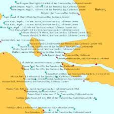 Benicia Tide Chart Fishing Oakland Middle Harbor San Francisco Bay California Tide Chart