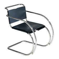 chair with arms mies van der rohe furniture cad blocks