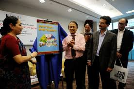 journalist duo launch book on n economy in singapore s high commissioner to singapore vijay thakur singh launches the book on n socio economy