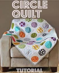 Circle Quilt Patterns Beauteous 48 Fresh And Fun Quilt Patterns For Beginners Quilts Pinterest