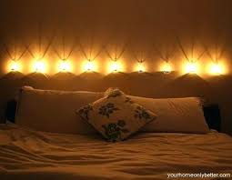 romantic bedroom lighting ideas. Romantic Bedroom Lighting Cool Ideas With White Brown Wall Bed E