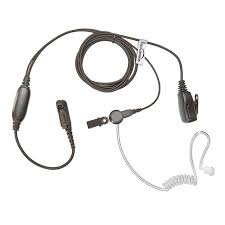 motorola radio earpiece. these covert acoustic radio earpieces for multi pin motorola radios are exceptionally durable, but still lightweight. the audio quality this earpiece is