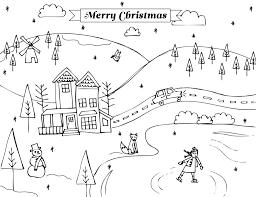 December Coloring Pages Diywordpressme