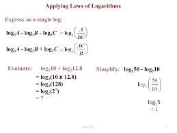 math laws single logarithm math locart club
