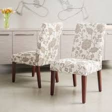 these fortable fl print dining chairs add style and grace to any dining room soft padded seats with linen upholstery increase fort