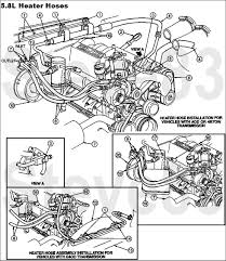 1990 ford bronco diagrams and schematics picture supermotors rh supermotors 1995 f150 heater hose diagram ford explorer heater hose diagram