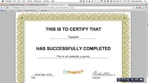 How To Make Document Template Certificate Of Completion Template