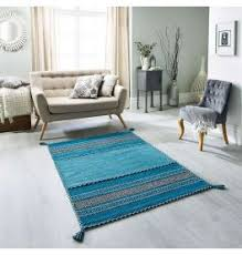 Image Silver Grey Kelim Teal Ethnic Handwoven Rug Land Of Rugs Blue Rugs Teal Navy Duck Egg Rug More Land Of Rugs