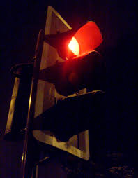 Stop Light At Night Late Night Traffic Light James Bowe Flickr