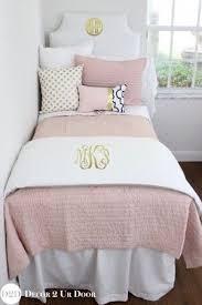 blush bedding queen. Brilliant Queen Blush Pink White U0026 A Pop Of Black Designer Dorm Bedding Set Inside Queen R